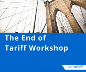 The End of Tariff Workshop